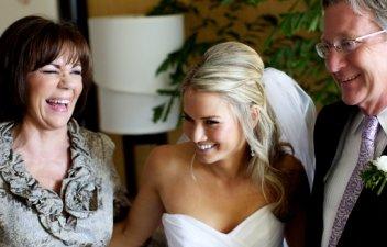 Свадебные поздравления молодых от родителей