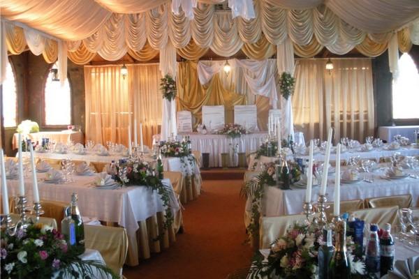 украшения свадебного зала