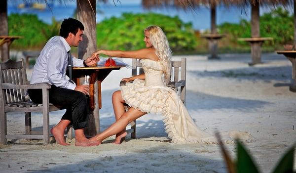 Traditionelle Aufgabenverteilung bei einer Hochzeit