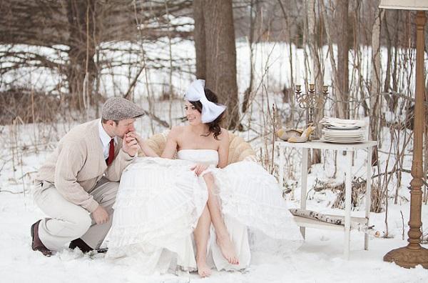 зимняя невеста