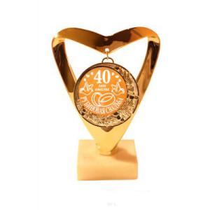 медаль за 40 летие свадьбы