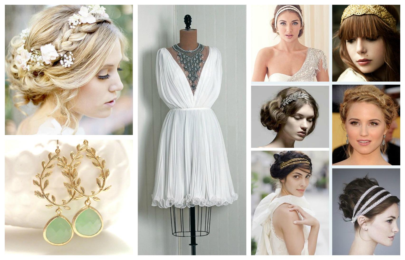 Фото невеста в греческом стиле
