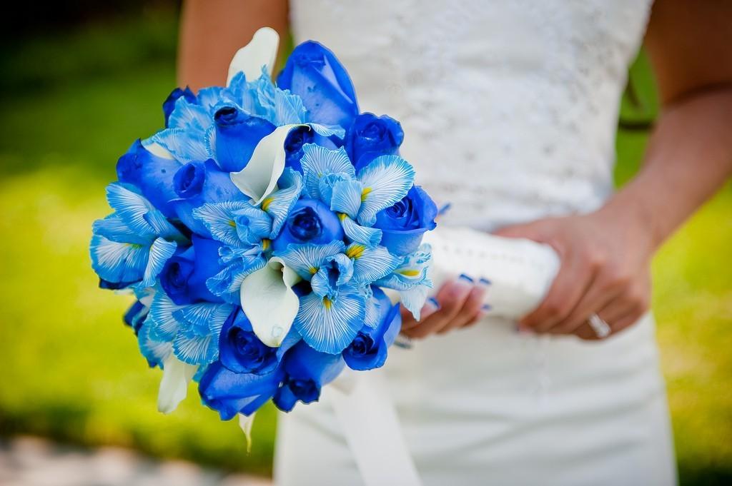 7348666ebb16893 Голубая свадьба: оформление, стиль одежды, аксессуары