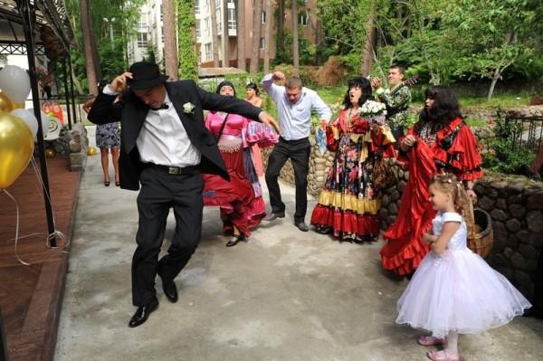 танец цыган