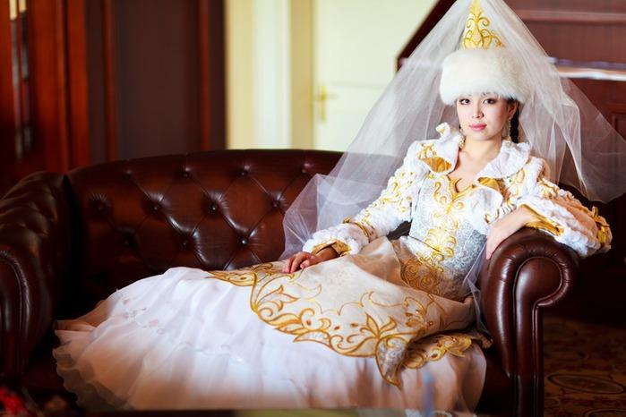 Казахские платья к свадьбе