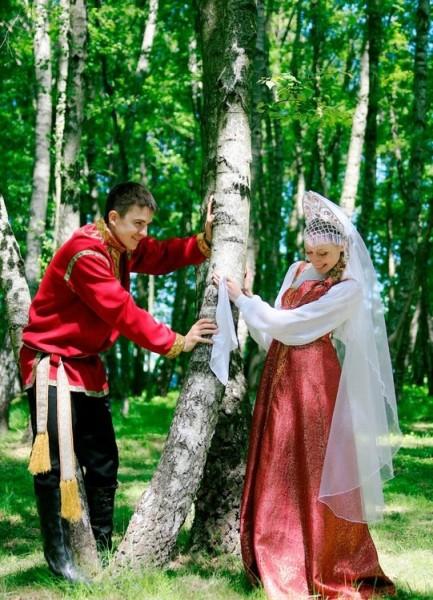 Свадьба в русском стиле