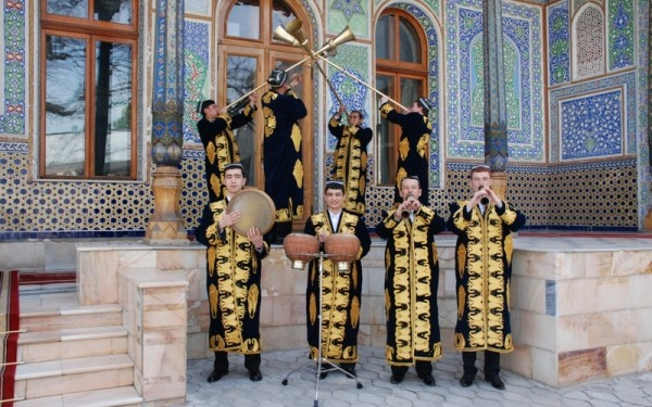 Узбекский оркестр