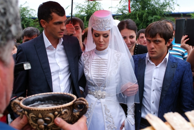 Осетинская свадьба. - Осетины - Ossetians 92