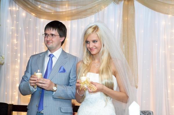 Слова при зажигании семейного очага на свадьбе