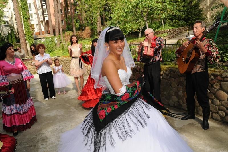 Картинки цыганских свадеб
