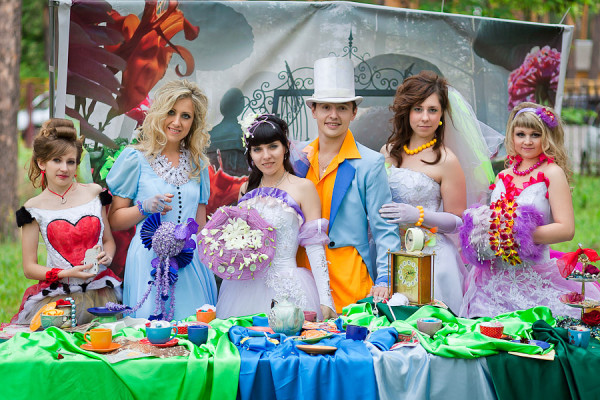 Выкуп невесты в сказочном стиле