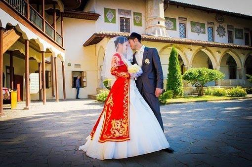 татарские костюмы для свадьбы