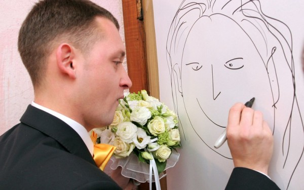 Рисовальный конкурс на выкуп невесты