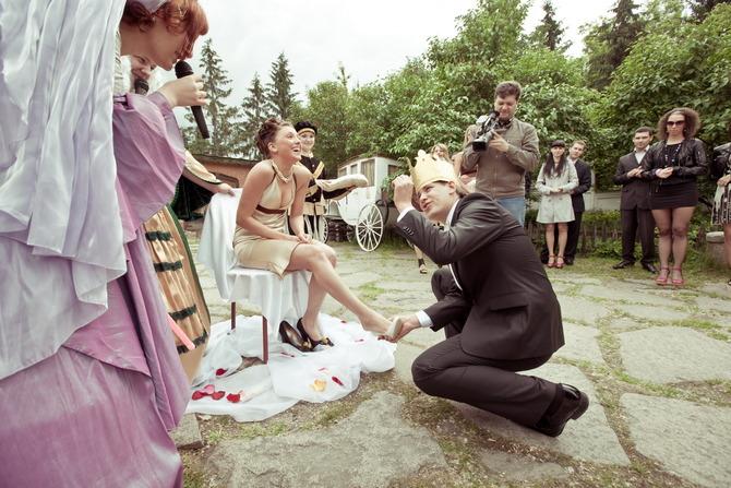 Выкуп невесты туфельки