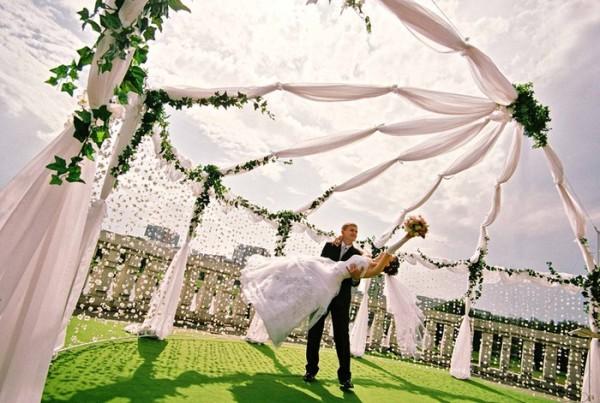 свадьбы на природе