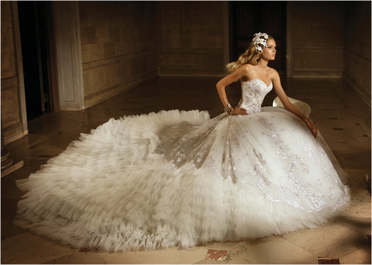 Фото самое пышное платье в мире