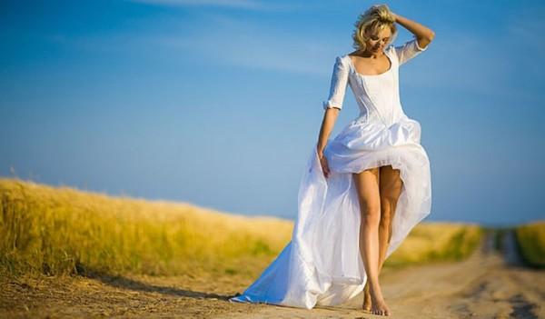 невеста на дороге