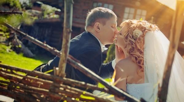деревенский поцелуй