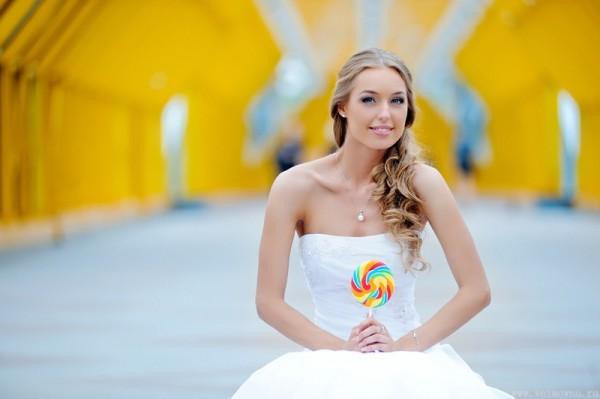 невеста с карамелью