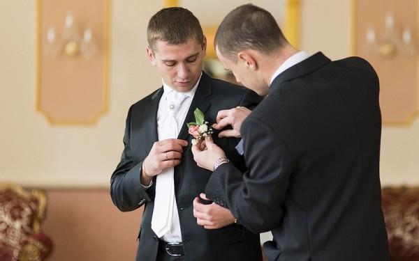 мужчины перед свадьбой