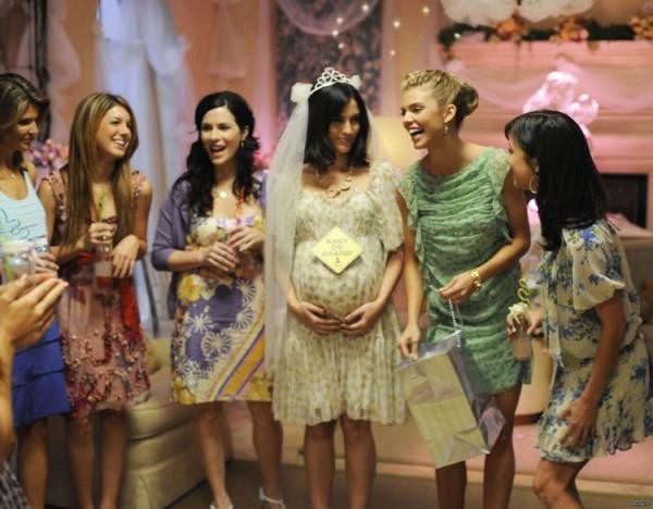 девичник для беременной невесты