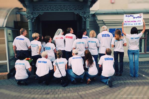 Прикольные футболки на свадьбу