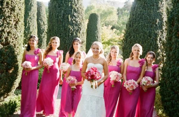 розовая невеста
