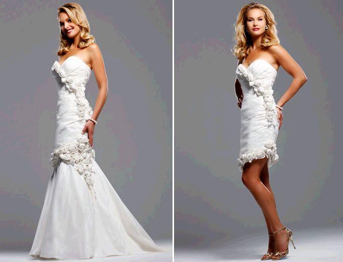 Свадебные платья на второй день