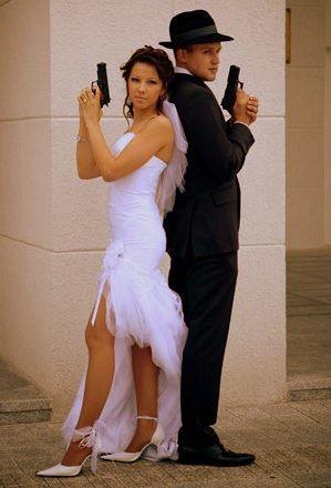 Гангстерский выкуп невесты в стиле мафии