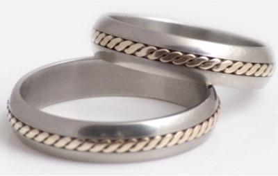 титановые обручальные кольца