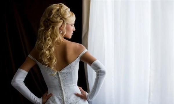кудрявая невеста
