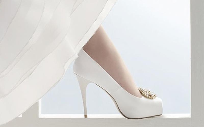 Свадебные туфли на каблуке, фото | Оригинальные