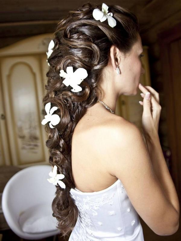 коса невесты
