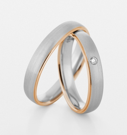 кольца из платины