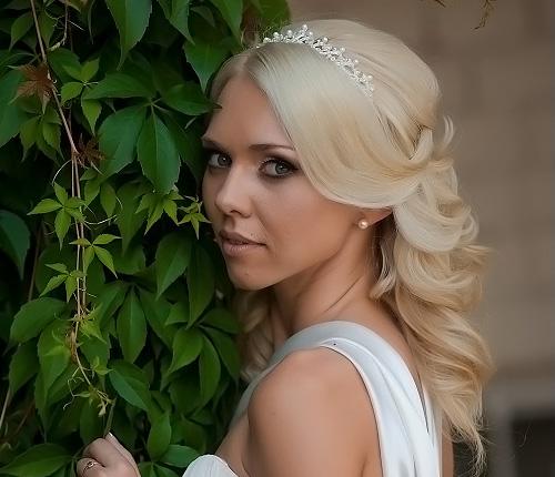 волосы невесты