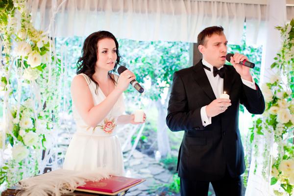 Слова невесте на свадьбе от жениха