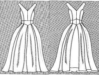 Платья. Выкройки свадебных платьев видео мк. Лучшие картинки со всего интернета