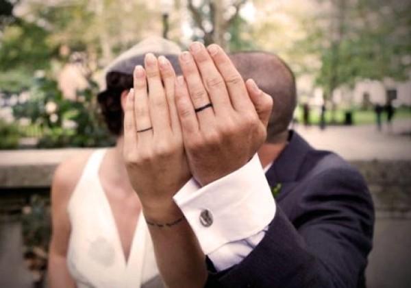 Свадебные кольца – татуировки