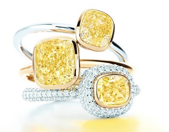 Цветные бриллианты Тиффани