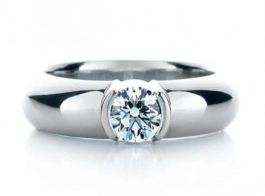 Обручальные кольца Тиффани