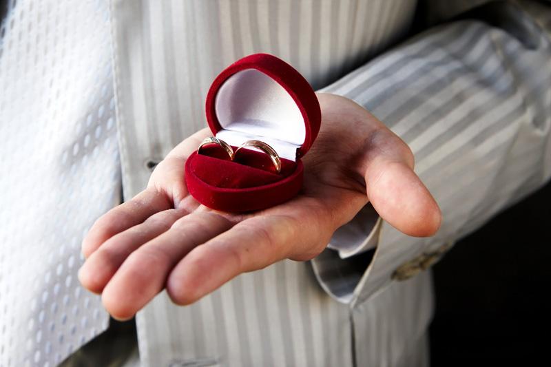 Кольцо в подарок от мужчины 828