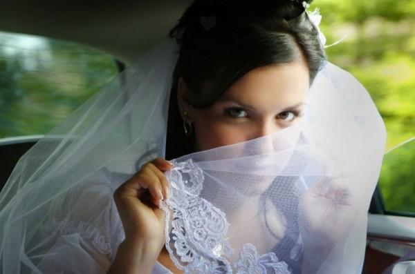 невеста с вуалью