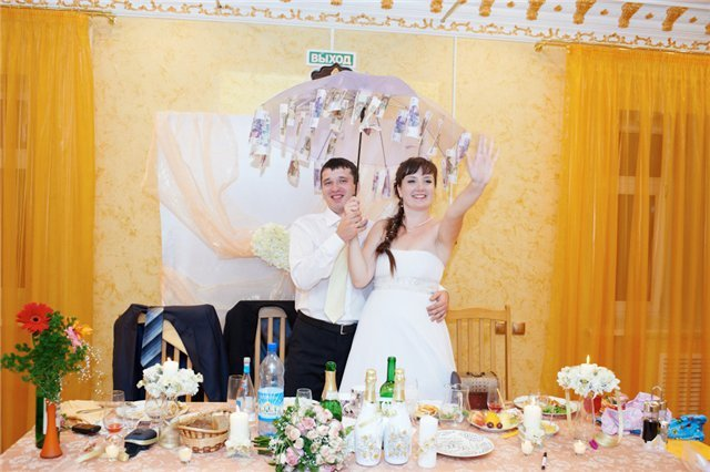 Поздравление в прозе на свадьбу прикольные с вручением денег