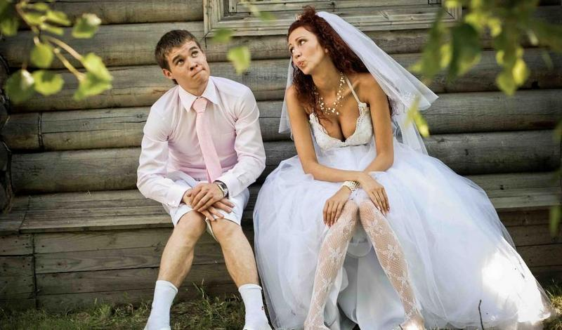 фото смешные невесты и жениха