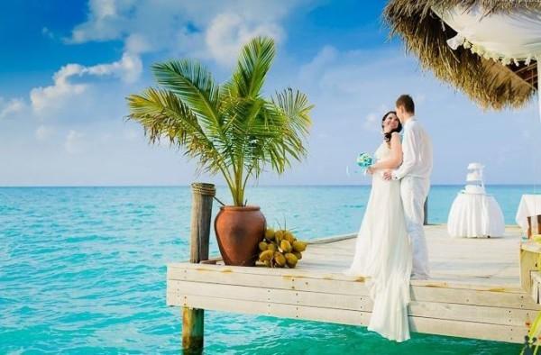 свадьба у моря