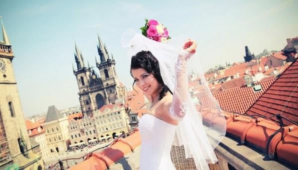невеста на крыше