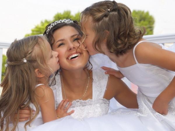невеста с детьми