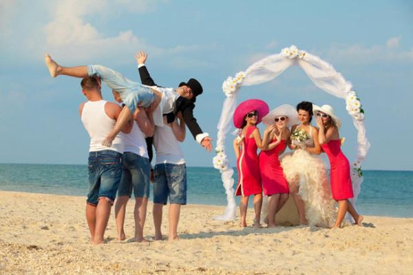 свадебные церемонии за границей