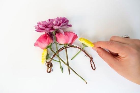 цветы на проволоке