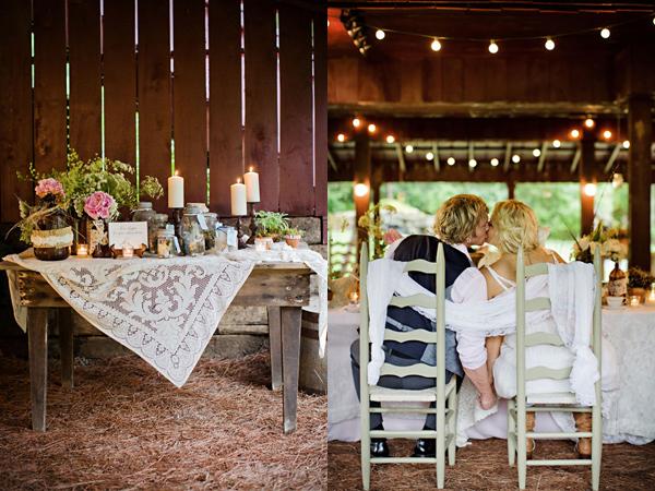 свадьба в сарае